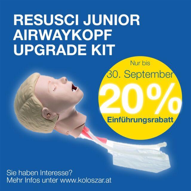 *** EINFÜHRUNGSANGEBOT - 20% SPAREN ***  Der neue Resusci Junior Airwayhead Der Resusci Junior QCPR ist für das CPR Training mit Feedback sowohl in der Präklinik geeignet als auch innerhalb des Krankenhauses. Der neue Airwaykopf ermöglicht das Training der supraglottischen Intubation und ist bis zu den Stimmbändern anatomisch korrekt.  Jetzt das Einführungsangebot nutzen und nur bis 30. September 20% sparen!  Mehr Infos zum Resusci Junior Airwayhead finden Sie hier: https://koloszar.at/produktkataloge/  mit besten Grüßen, Das Team der Koloszar Medizintechnik  #laerdal  #resusci  #neuesprodukt  #angebot  #BLS  #blstraining  #ALS  #nieohnemeinteam  #medizintechnik  #koloszarmedizintechnik